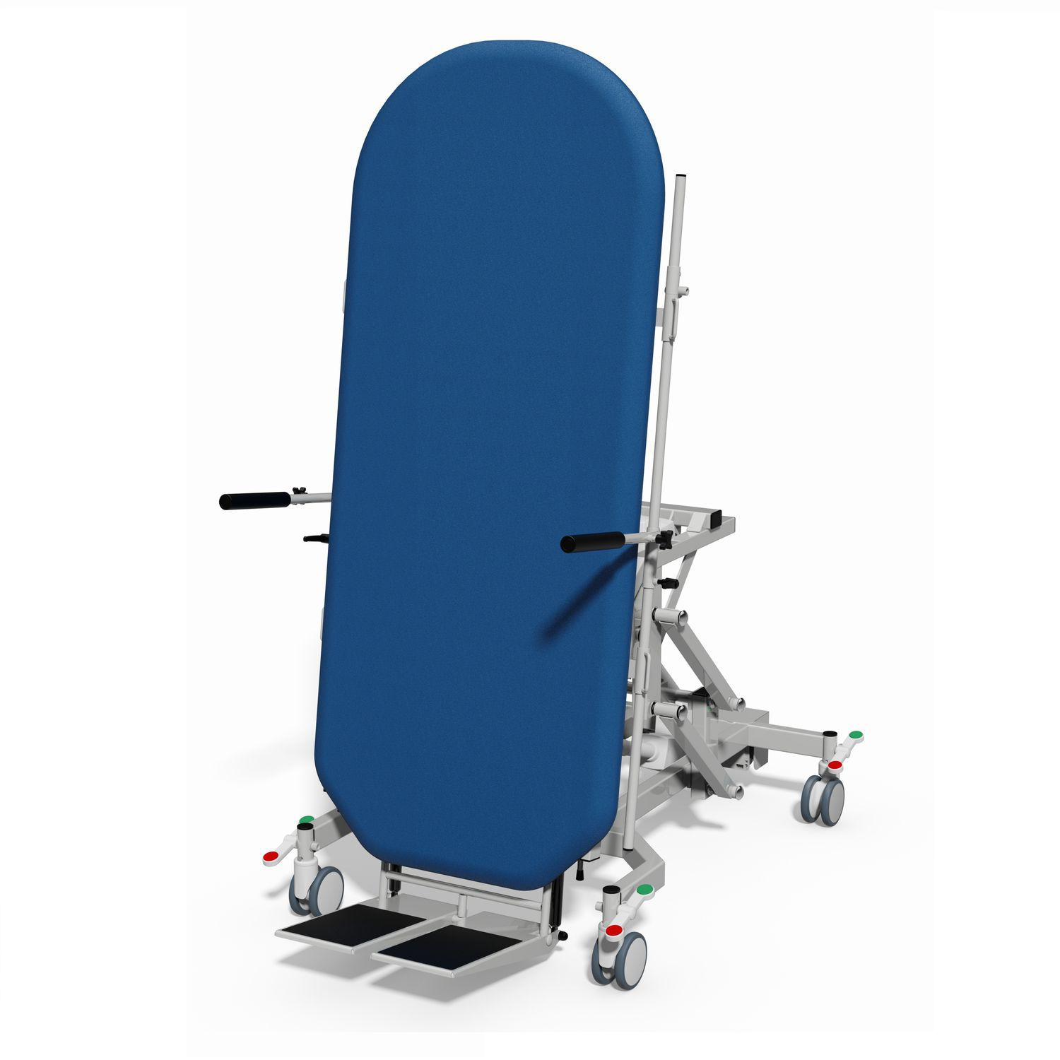 1 section tilt table - BARI 1 - Plinth Medical - therapy / electric / on  casters