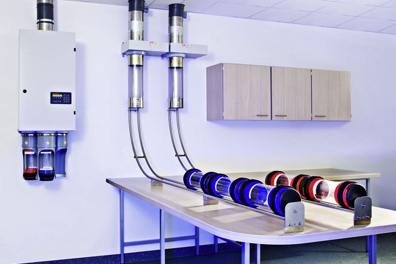 Hospital Pneumatic Tube System Aerocom Laboratory