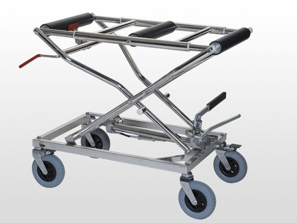 Transport trolley / mortuary / coffin / height-adjustable - CEAC120