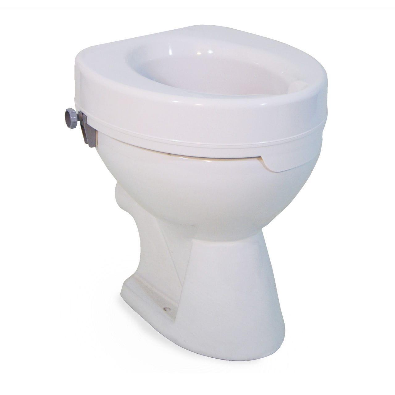 Pleasant Raised Toilet Seat Ticco 2G Devilbiss Healthcare Machost Co Dining Chair Design Ideas Machostcouk