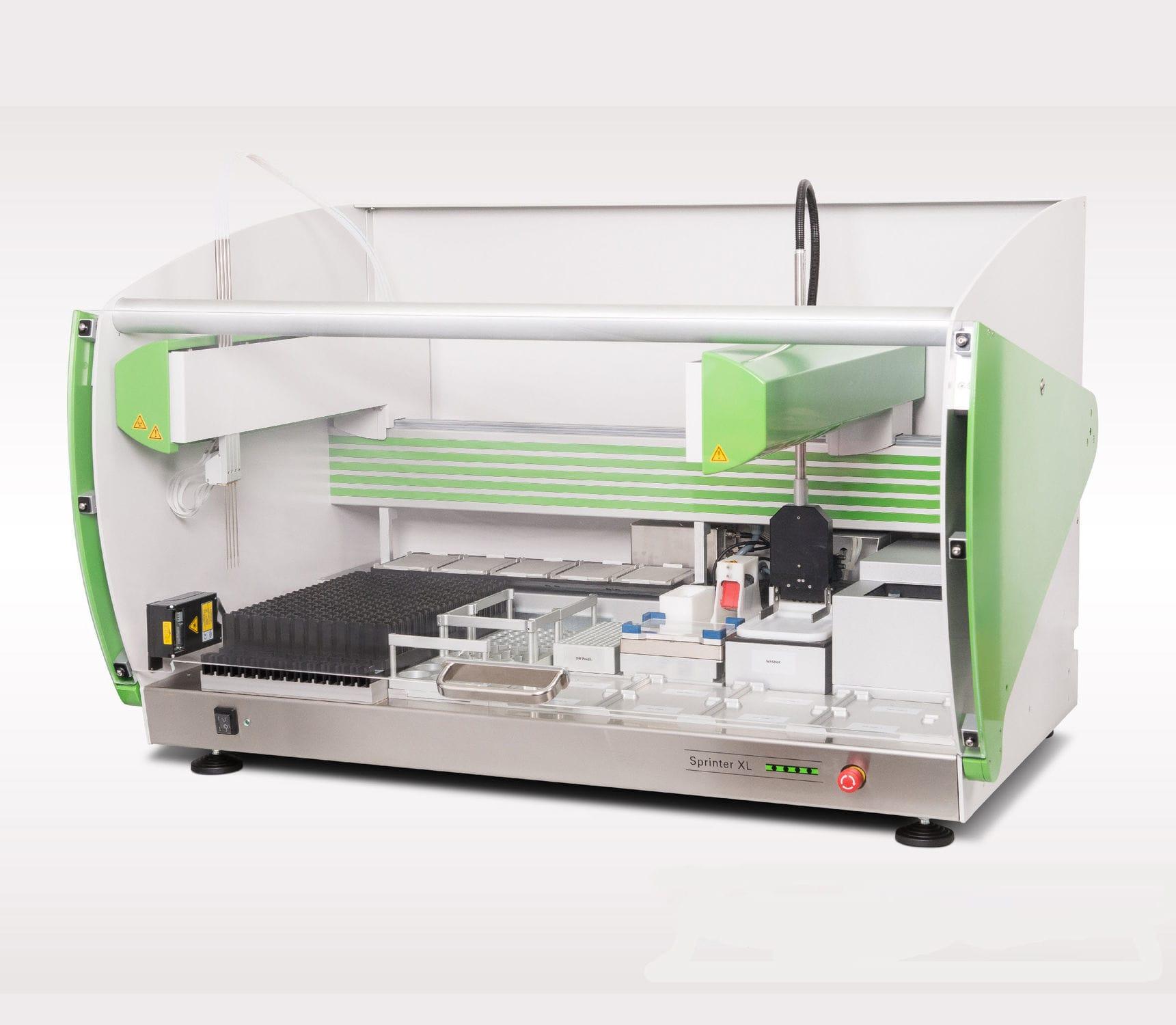 Automated immunoassay analyzer / bench-top / IFT / ELISA Sprinter XL  EUROIMMUN Medizinische Labordiagnostika AG