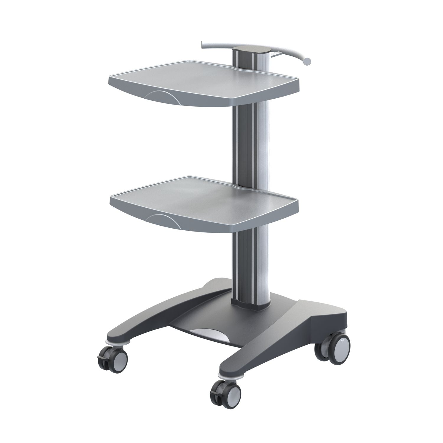 Multi-function trolley / equipment / for medical devices / 2-tray
