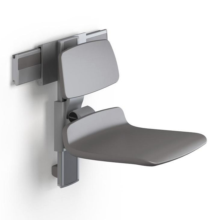Shower Seat Fold Down Wall Mounted Height Adjule R7440112000