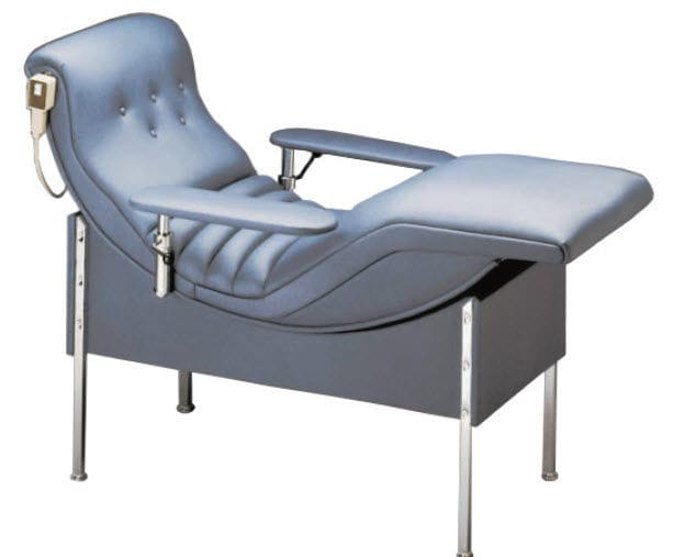Electric blood donor chair - Fenwal - 3-section / with legrest