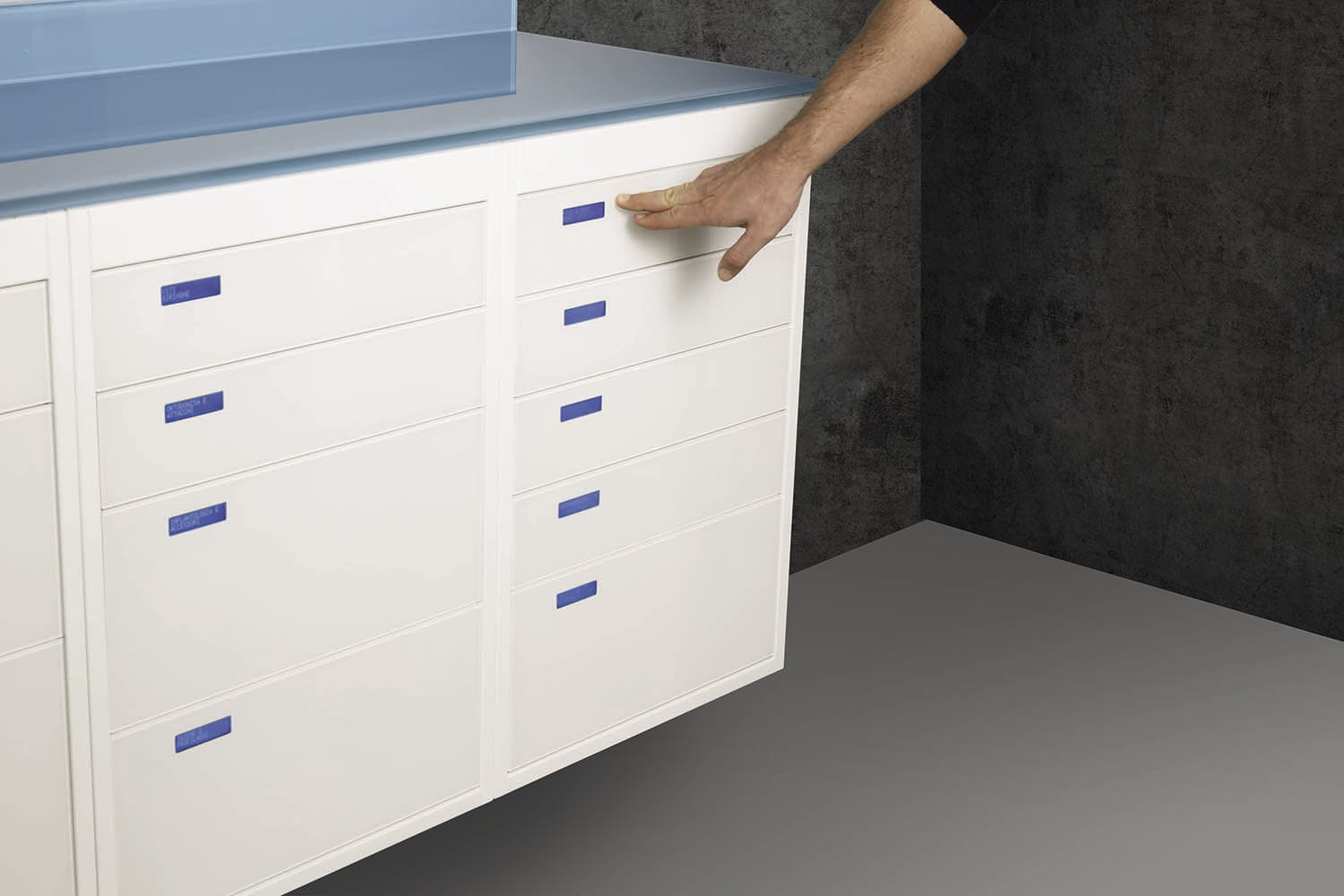 Dental clinic furniture / storage / for instruments / for