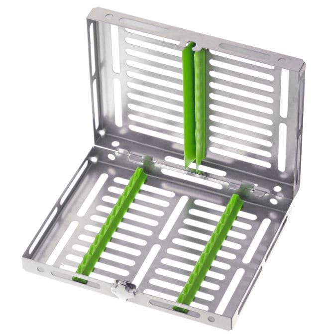 Dental instrument sterilization tray - Gammafix 980/10 TRE - MEDESY s.r.l. - stainless steel