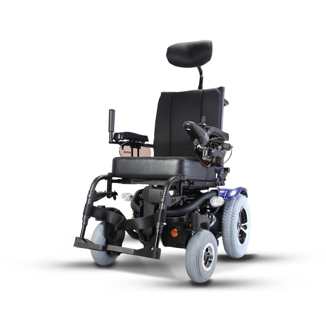 Electric Wheelchair Outdoor Indoor With Legrest Leon Sling Karma Medical Products