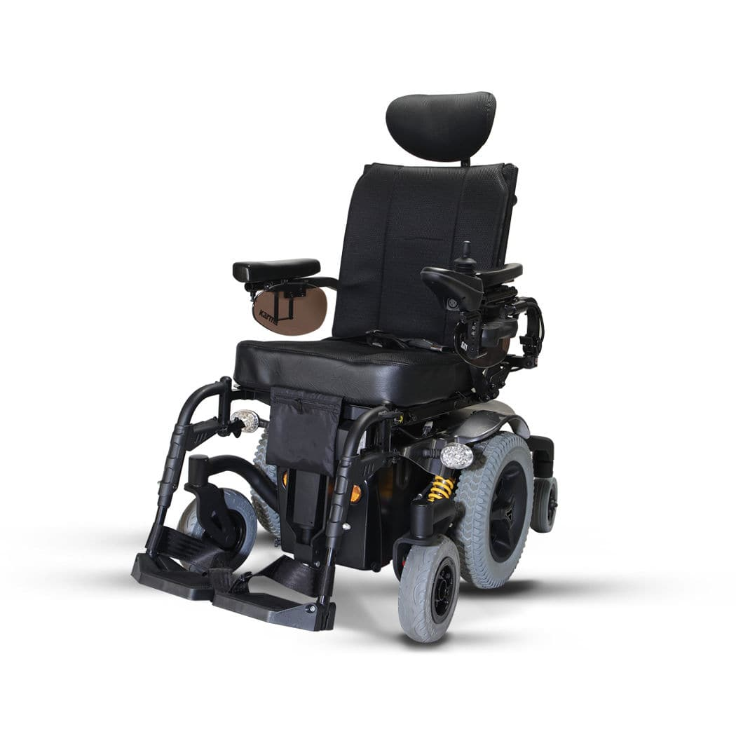 Electric Wheelchair Outdoor Indoor With Legrest Morgan Sling Karma Medical Products