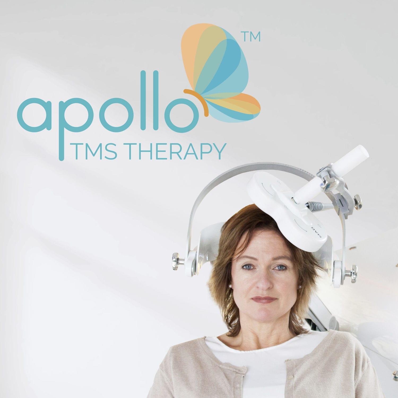 TMS + rTMS transcranial magnetic stimulator - Apollo TMS