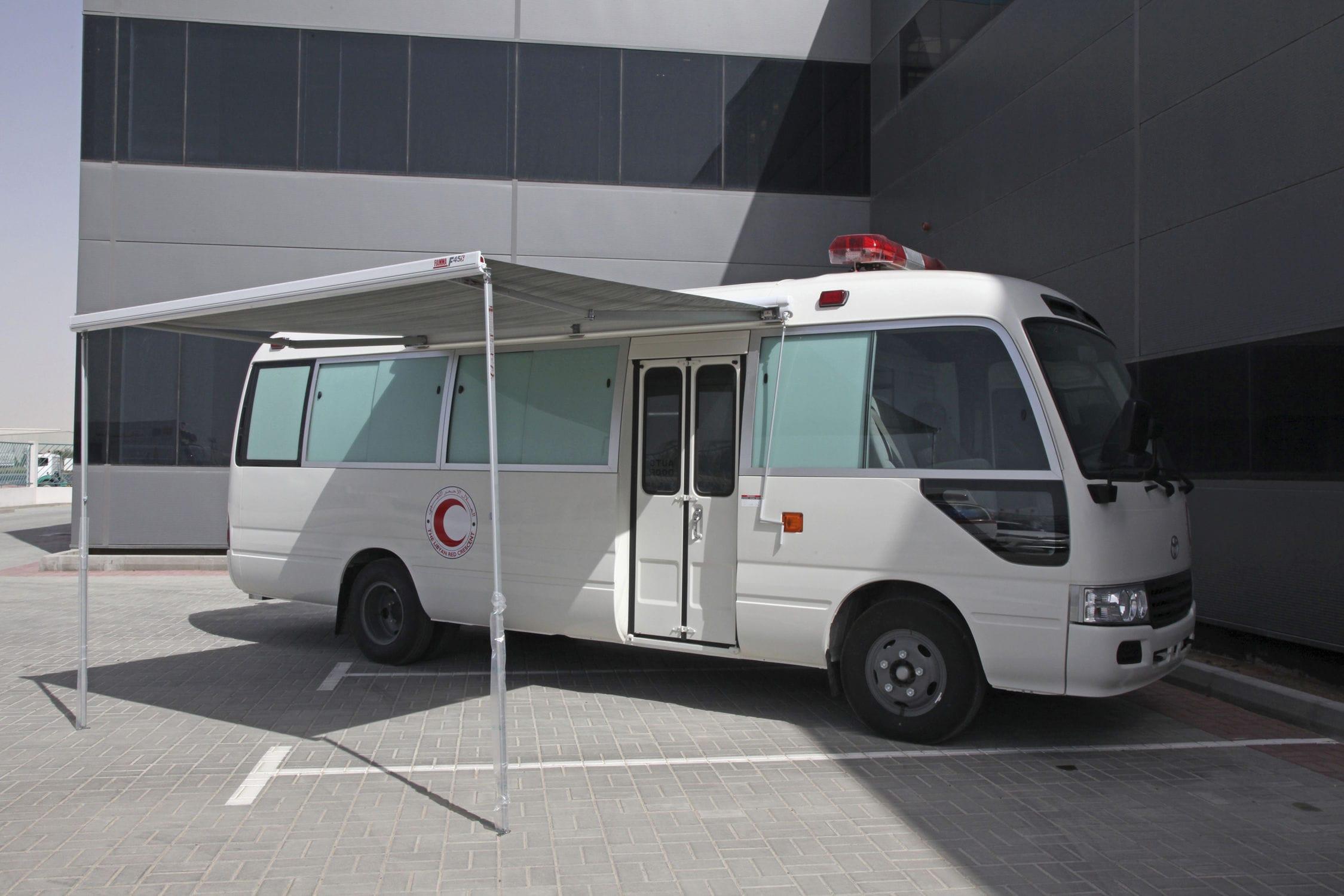 Laboratory mobile health vehicle / bus - TOYOTA COASTER