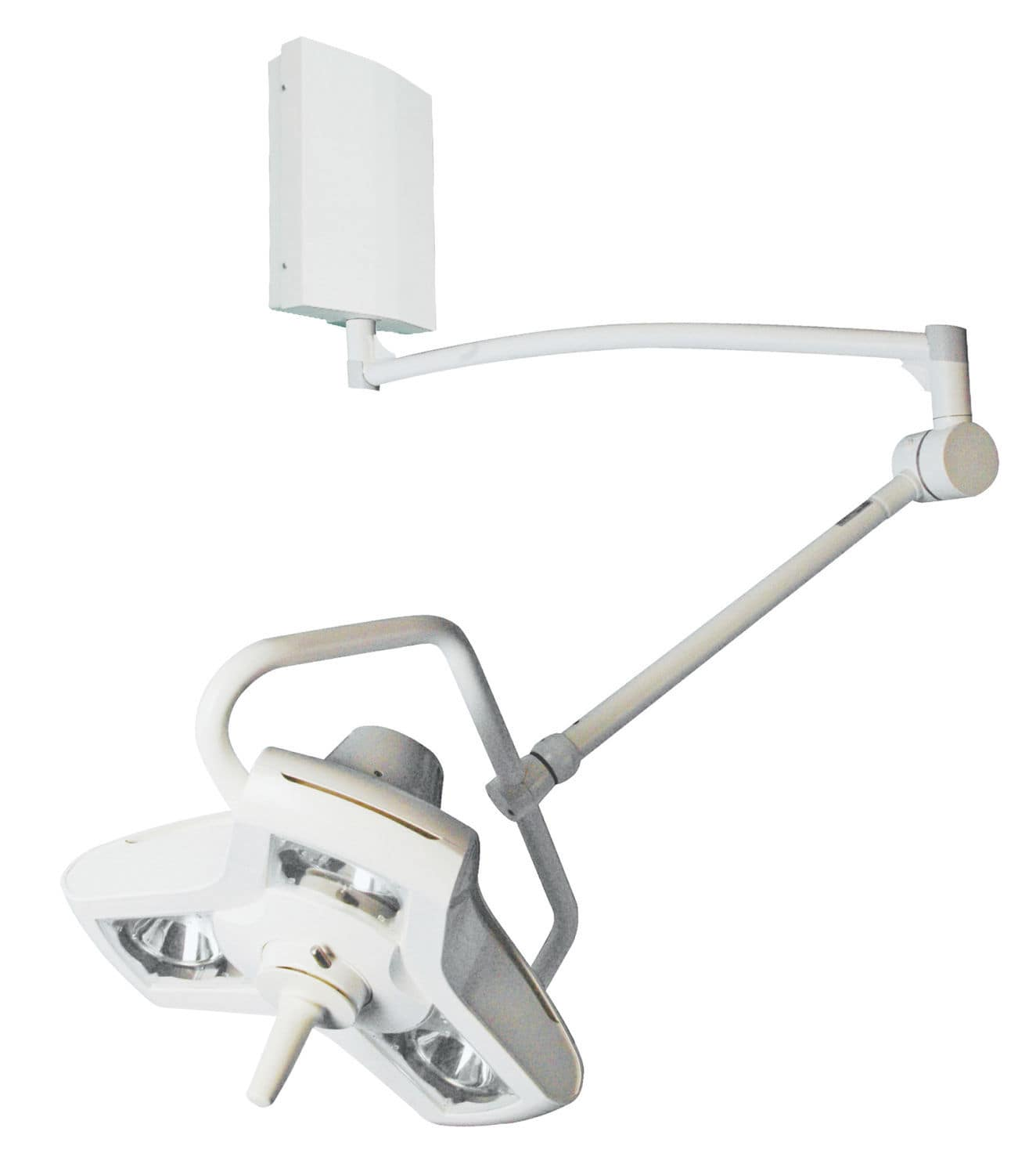 Compact surgical light / ceiling-mounted / halogen - AIM-100