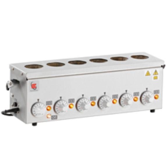 Analog laboratory heating multi-mantle / for Kjeldahl