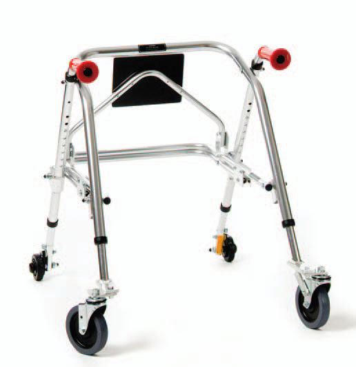 Swell 4 Caster Rollator With Seat Height Adjustable Bralicious Painted Fabric Chair Ideas Braliciousco
