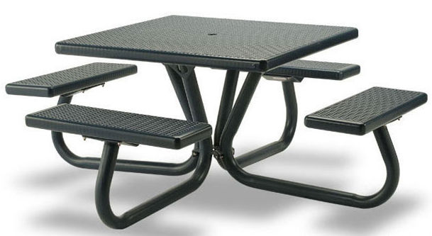 Strange Dining Table Square With Attached Chair Hilltop Norix Ibusinesslaw Wood Chair Design Ideas Ibusinesslaworg