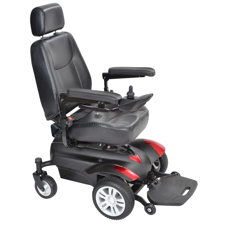 Remarkable Electric Wheelchair Outdoor Indoor With Headrest Machost Co Dining Chair Design Ideas Machostcouk