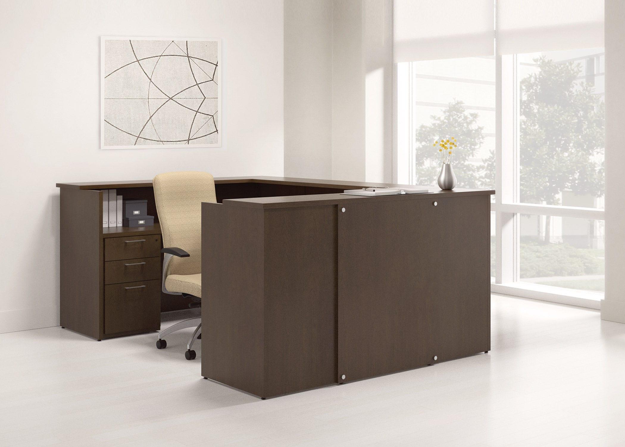 Reception desk - Renegade - National Office Furniture - workstation