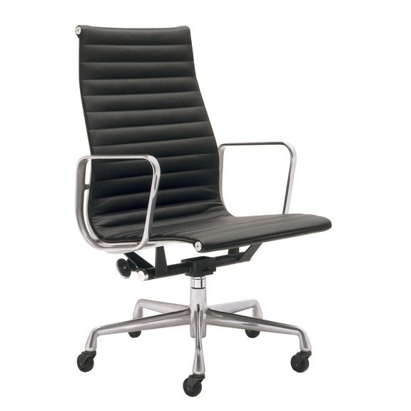 Sedia Eames Ufficio.Office Chair With High Backrest With Armrests Eames