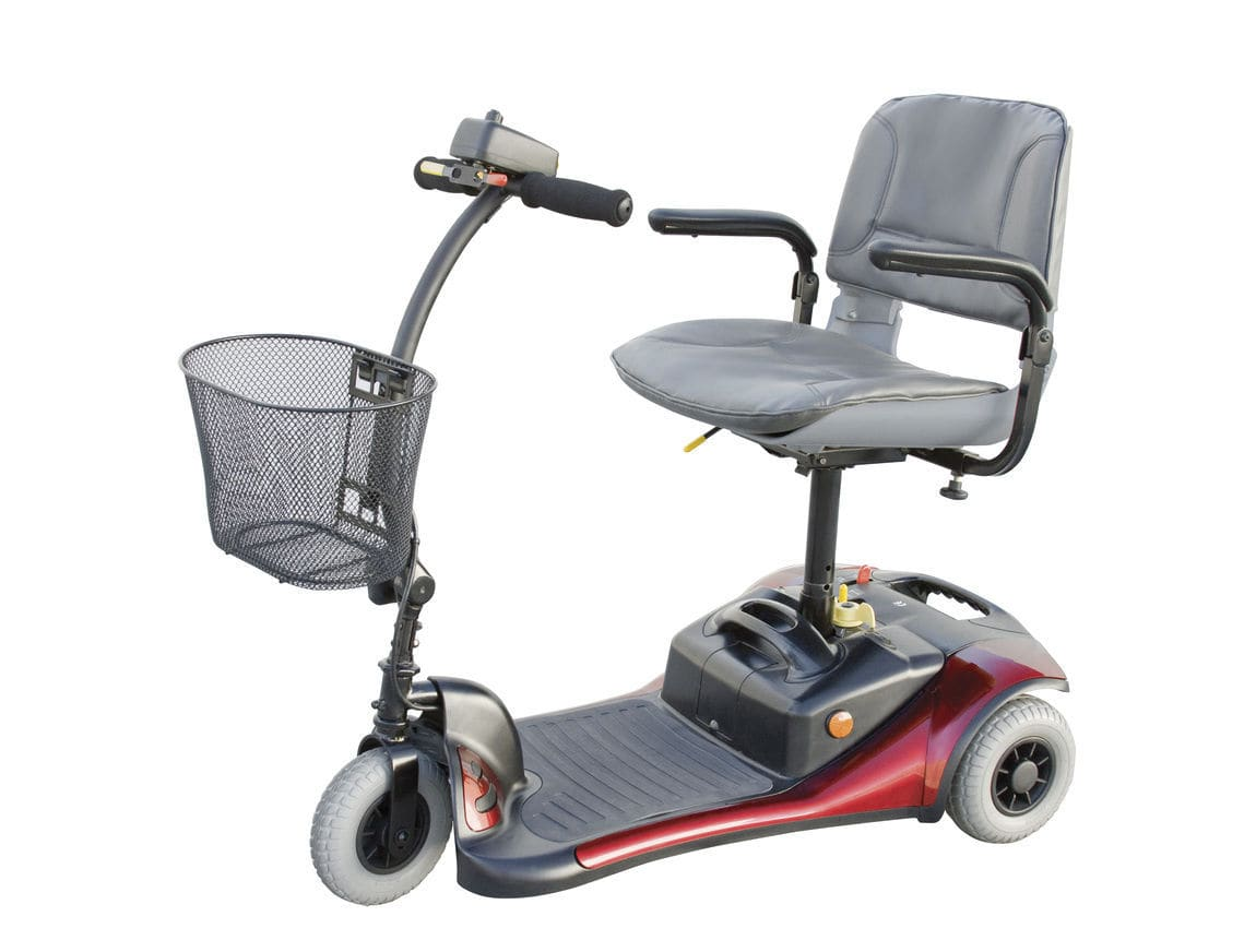 3-wheel electric scooter - Cooper - Shoprider