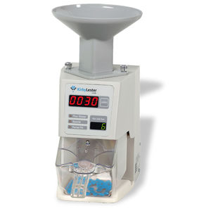 bottle counting-filling machine