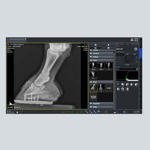 radiography software / for veterinary radiology / management / viewer
