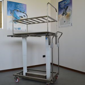sterilization trolley / for sterilization chambers / transport / storage