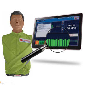 CPR training manikin / torso / with digital real-time feedback