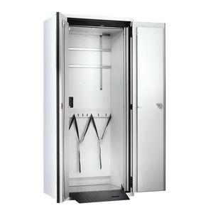 gas cylinder cabinet / laboratory / 2-door