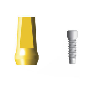 straight implant abutment