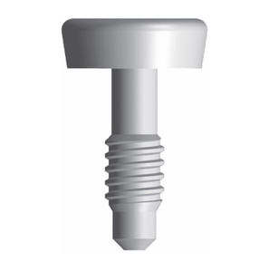 titanium healing screw