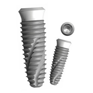 cylindro-conical dental implant