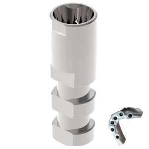 stainless steel dental implant analog