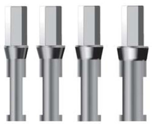 straight dental implant analog