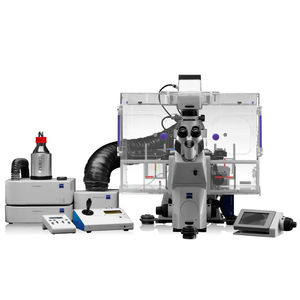 automatic cell imaging system / for cell culture / for scientific research / for biological samples