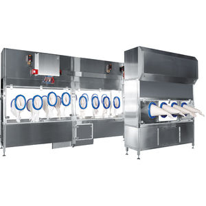 clean room restricted-access barrier system