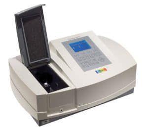 UV-vis spectrometer / single-beam / halogen / tungsten