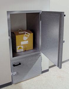 nuclear medicine transfer hatch / shielded