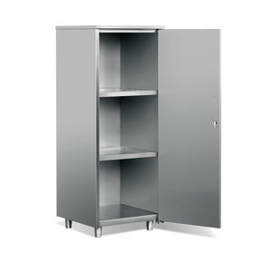 storage cupboard / for radioactive isotopes / for nuclear laboratories / 1-door