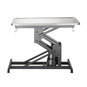 veterinary examination table / hydraulic / height-adjustable