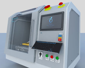 CAD/CAM milling machine / for orthopedic insole manufacturing