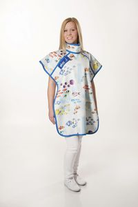 X-ray protective dental apron / front protection / side protection / 0.5 mm