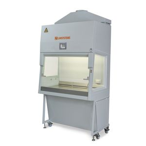 type B2 biological safety cabinet / mobile / with HEPA filter / vertical laminar flow