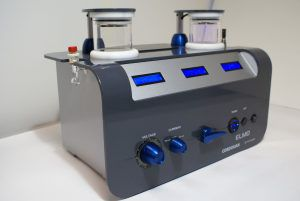 glow discharge sample preparation system
