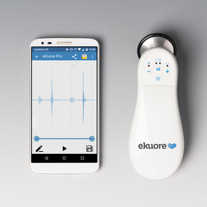 cardiology stethoscope / for teaching / for telemedicine / electronic