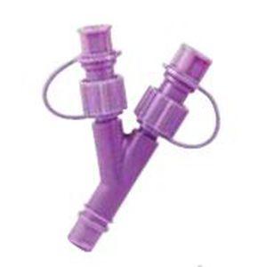 Y infusion connector