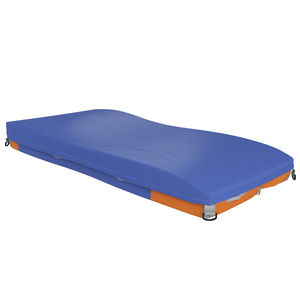hospital bed mattress / 90x200 cm / gel