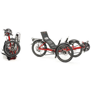 adult recumbent trike / foldable
