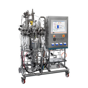 laboratory bioreactor / for production / sterilizable in-situ / compact