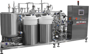 decontamination machine for the pharmaceutical industry / aseptic