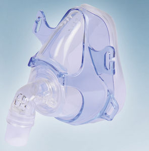 nasal artificial ventilation mask / CPAP / silicone / adjustable