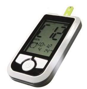 blood glucose monitor with lancing device